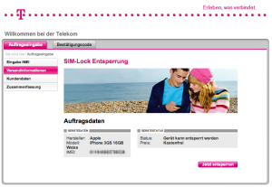 iPhone entsperren bei T-Mobile
